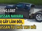 Bi hài chuyện Nissan Navara tại Anh gãy đôi trong quá trình sử dụng