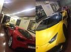 """Lamborghini Huracan độ của Cường """"Đô-la"""" tạm trú trong garage """"khủng"""""""