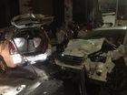 Phú Nhuận: Mazda CX-5 và taxi Vinasun va chạm kinh hoàng, 1 phụ nữ tử vong