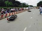 """Sài Gòn: Kinh hoàng Honda Accord """"hạ gục"""" 6 xe máy trên phố, nhiều người bị thương nặng"""