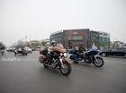 Hà Nội: Dàn xe Harley-Davidson hộ tống xe đón dâu