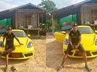 """""""Hoàng tử Muay Thái"""" gây xôn xao khi đỗ chiếc Porsche 718 Cayman bên ngôi nhà tồi tàn"""