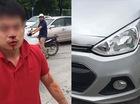 Hà Nội: Tài xế Hyundai Grand i10 bị đấm chảy máu mặt sau va chạm giao thông