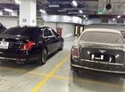 Bentley Mulsanne không biển số bị bỏ rơi trong hầm để xe tại Hà Nội