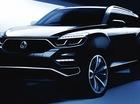 SsangYong hé lộ hình ảnh của mẫu SUV đầu bảng sắp ra mắt