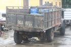 Ô tô tải thiếu bánh sau tông chết thiếu úy công an