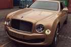 Bentley Mulsanne Speed Mulliner màu vàng hồng độc nhất VN
