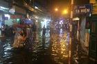 Sau mưa lớn tối 20/8, Hà Nội lại