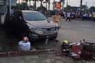 Quảng Trị: Hyundai Santa Fe đâm gần 10 xe máy, 4 người nhập viện