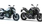 Kawasaki vén màn cặp đôi mô tô Z900 và Z650 mới