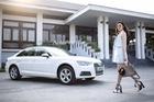 Á hậu Dương Tú Anh khoe dáng trong nắng mới cùng Audi A4 2016