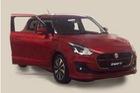 Suzuki Swift thế hệ mới lần đầu tiên lộ diện trần trụi