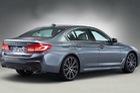 Xe sang BMW 5-Series thế hệ mới lộ diện trước ngày ra mắt