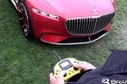 Xem cảnh Mercedes-Maybach 6 di chuyển bằng điều khiển từ xa
