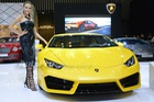 Gian hàng Lamborghini chói lóa tại VIMS 2016 với bộ 3