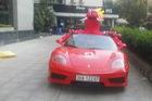 Xôn xao Ferrari 360 Spider làm