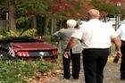 Ford Mustang bị xé nát vì chạy quá tốc độ