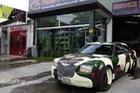 Hà Nội: Độc đáo với Chrysler 300 mang phong cách nhà binh