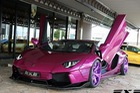 Lamborghini Aventador LP700-4 độ theo phong cách xe Joker