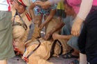Nam thanh niên rú ga, điên cuồng đâm gục CSGT giữa đường