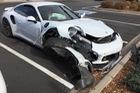 Porsche 911 Turbo hỏng nặng vì nguyên nhân giống vụ tai nạn Cayman GTS tại Việt Nam