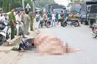 Bình Dương: Đi ăn tiệc về, người phụ nữ bị xe container cán tử vong thương tâm