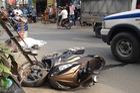 Tông chết người đàn ông, tài xế dừng 1 lúc rồi tăng ga bỏ chạy