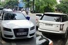 Xôn xao cặp đôi xe sang Audi A5 và Range Rover chung biển