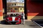 Ông chủ hãng Pagani nhận siêu xe Ferrari F12tdf