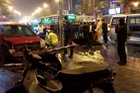 Khoảnh khắc kinh hoàng khi Toyota Yaris đâm liên hoàn khiến 6 người bị thương tại Hà Nội