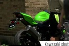 Mô tô thể thao Kawasaki Ninja 400 2018 lộ diện trên đường phố