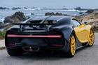 Siêu xe Bugatti Chiron đến Mỹ với giá 3 triệu USD và cản va sau