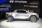 Xe bán tải Hyundai Santa Cruz chính thức được