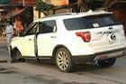 Ninh Bình: Va chạm với Toyota Fortuner, SUV tiền tỷ Ford Explorer rụng bánh