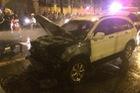 Đâm vào xe độ còn cố bỏ chạy, Honda CR-V phừng phừng cháy giữa đêm