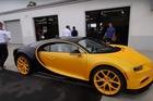 Bugatti Chiron đầu tiên cập bến Bắc Mỹ với ngoại thất độc nhất thế giới