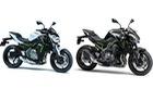 Cặp đôi naked bike Kawasaki Z900 và Z650 2017 sắp ra mắt Việt Nam với