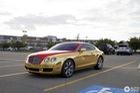 Chiếc xe sang Bentley Continental GT mang phong cách Iron Man bị