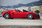 Bugatti Veyron Grand Sport đỏ rực