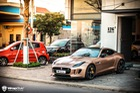 Jaguar F-Type R biển