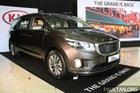Cận cảnh Kia Sedona 8 chỗ, rẻ hơn xe ở Việt Nam