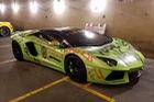 Hình ảnh siêu xe Lamborghini Aventador bị