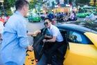 Đàm Vĩnh Hưng đưa Lamborghini Huracan của Cường