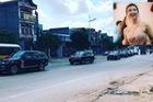 Hàng chục chiếc Lexus LX570 và Range Rover tham gia rước dâu hot girl Quảng Ninh