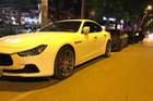 Dàn xe Maserati đình đám của các tay chơi Hà Nội tụ tập dưới phố