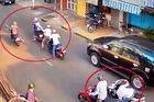 TP. HCM: Thay lốp xe, mất toàn bộ tài sản trị giá gần 2,5 tỷ đồng