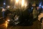 Xe bán tải tông chết nữ sinh khi chở người đi cấp cứu