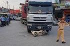 Hải Dương: Bị xe container cuốn vào gầm, nữ trung úy công an tử vong