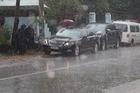 Đập kính xe ô tô Lexus trộm 5 tỷ đồng