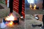 Xe điện hai bánh bốc cháy, gây hỏa hoạn và giết chết một em bé 3 tuổi